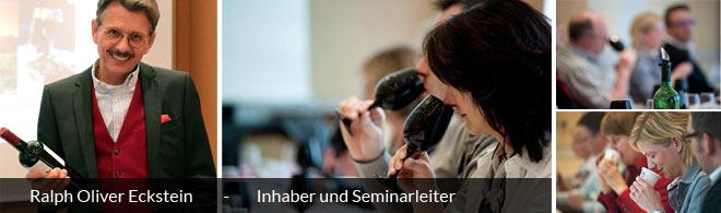 Weinschule Eckstein, Inhaber und Seminarleiter Ralph Oliver Eckstein