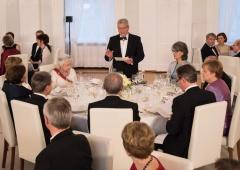 Staatsbankett Königin Elisabeth II. am 24.06.2015