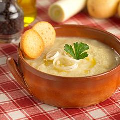 passender Wein und Rezept zur Kartoffel-Lauch-Suppe
