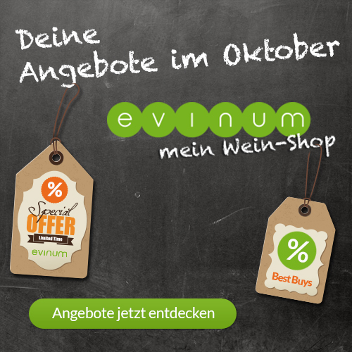 evinum - mein Wein-Shop Monatsangebote Oktober