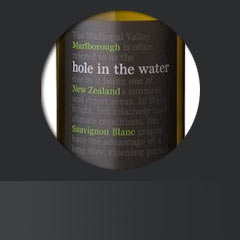 Hole in the water Sauvignon Blanc 2013 evinum