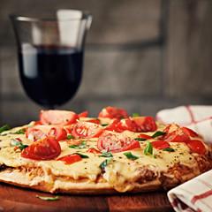 passender Wein und Rezept zur Pizza