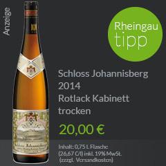 Schloss Johannisberg Riesling Rotlack trocken 2014 in evinum