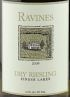 Ravines Riesling Finger Lakes Dry